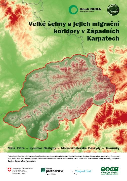 Velké šelmy a jejich migrační koridory v Západních Karpatech