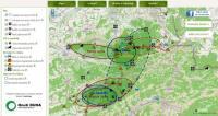 On-line mapa pohybu velkých šelem na česko-slovenském pomezí